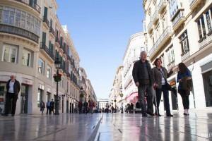 Calle Marques Larios – winkelen in Málaga