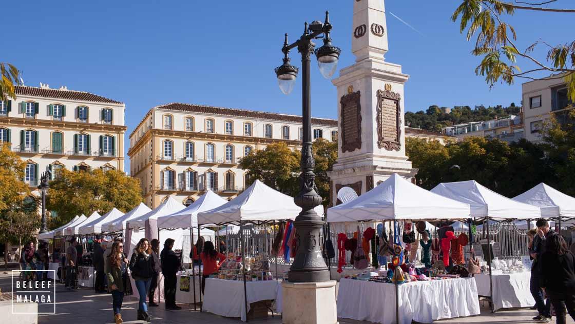 Malaga winter - markt stedentrip