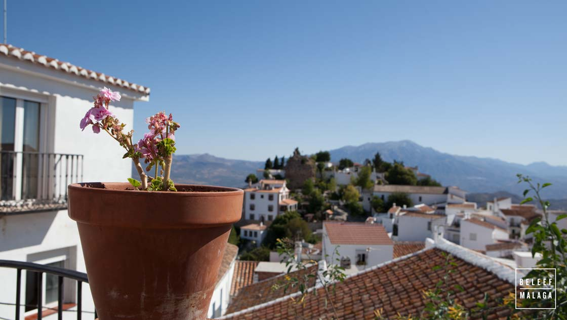Witte dorpen omgeving Malaga